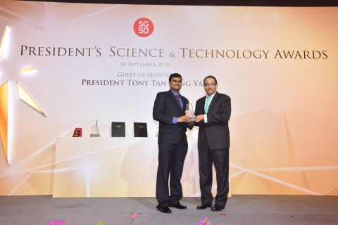 SinBeRISE Principal Investigator Named Young Scientist of the Year
