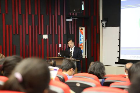 BEARS Director Masayoshi Tomizuka kicked off the SinBerBEST Mini Symposium