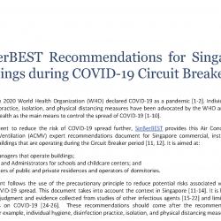 Smart Hub: Expert ACMV Recommendations for COV-19